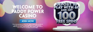 paddy power 100 free spins